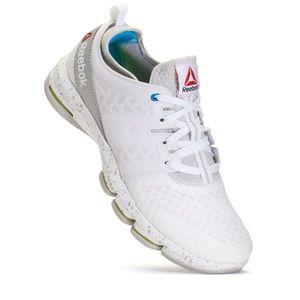 Reebok White DMX Flex Walk Sneakers 9.5